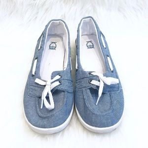 Mossimo Chambray Boat Shoes
